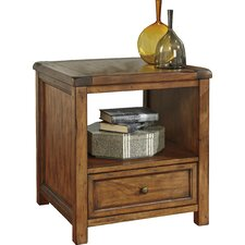 Clayton End Table by Loon Peak