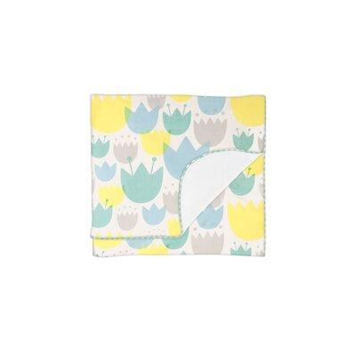 Tulip Garden Stroller Blanket