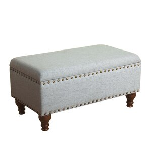 Best Reviews Oakford Upholstered Storage Bench by Alcott Hill