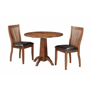 Blanco Point 3 Piece Dining Set by Loon P..