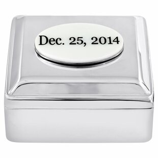 Clearance Personalized Clarice Jewelry Box By Initial Reaction