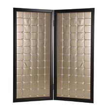 87 x 59 Monde Screen 2 Panel Room Divider by Screen Gems