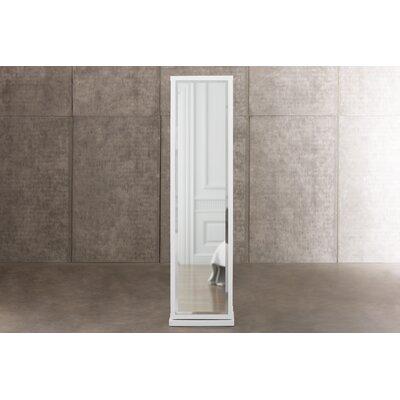 Artiva USA Bella Home Deluxe 17.25 W x 71 H Linen Tower Finish: White