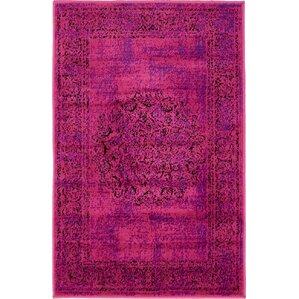 pink rugs you'll love   wayfair