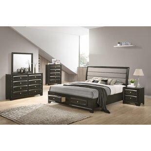 Gauch Platform 5 Piece Bedroom Set