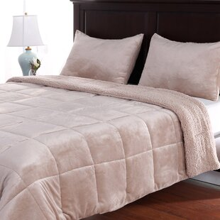 VelvetLoft 3 Piece Reversible Comforter Set