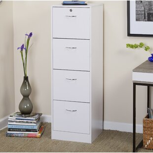 Hetzel 4 Drawer Vertical filing cabinet