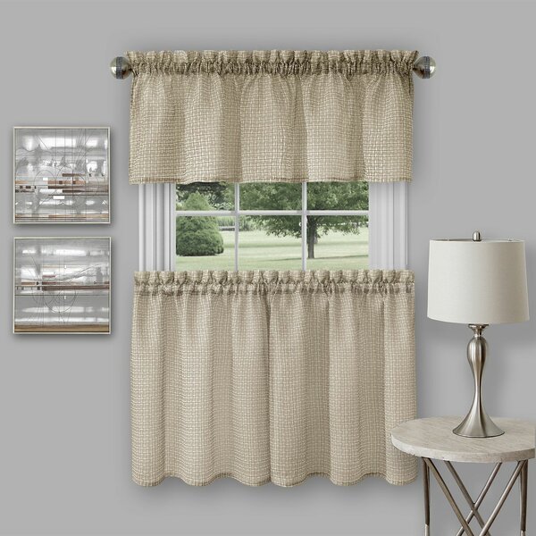 montego navy kitchen curtains slide grommet swags style lichtenberg tier tiers