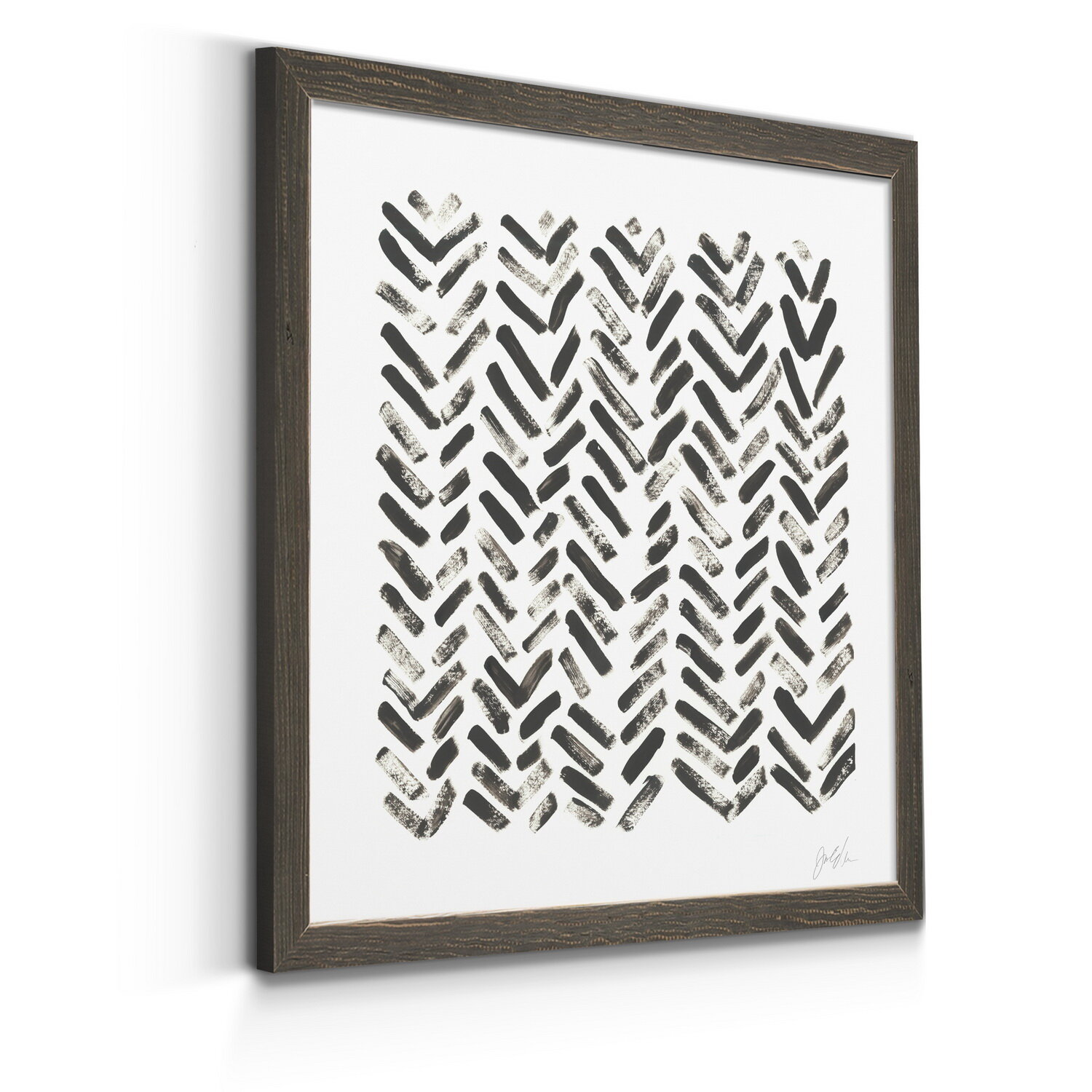 Corrigan Studio Mixed Signals Vii Picture Frame Print On Canvas Reviews Wayfair