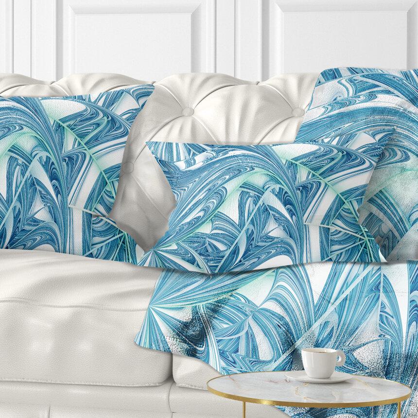 East Urban Home Abstract Unique Fractal Design Pattern Lumbar Pillow Wayfair