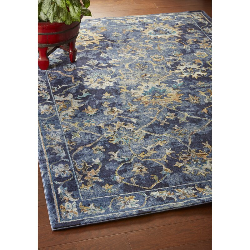 Amory Contemporary Jacobean Blue
