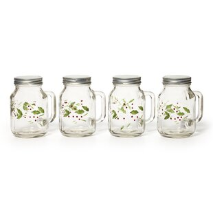 Winterberry Canning Jar Set (Set of 4)