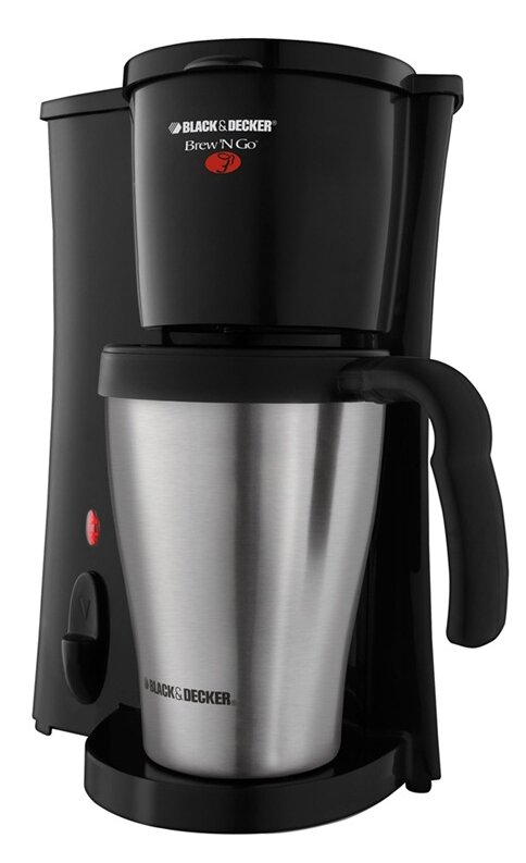 2 Cup+Brew+%2527N+Go+Personal+Coffee+Maker+with+Travel+Mug Brew N Go Personal Coffee Maker
