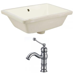 Searching for Ceramic Rectangular Undermount Bathroom Sink with Faucet and Overflow ByRoyal Purple Bath Kitchen