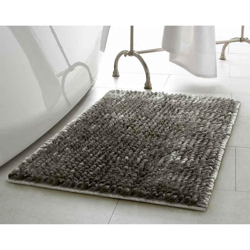 Laura Ashley Home Butter Chenille Bath Rug Reviews Wayfair