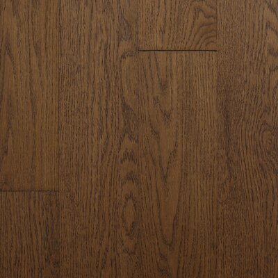 "Reykjavik 5"" Engineered Oak Hardwood Flooring Branton Flooring Collection Finish: Granola"
