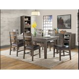 Burkhalter 7 Piece Solid Wood Dining Set by Union Rustic