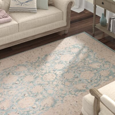 Lark Manor Rochelle Beige Area Rug Rug Size: Rectangle 3' x 5'