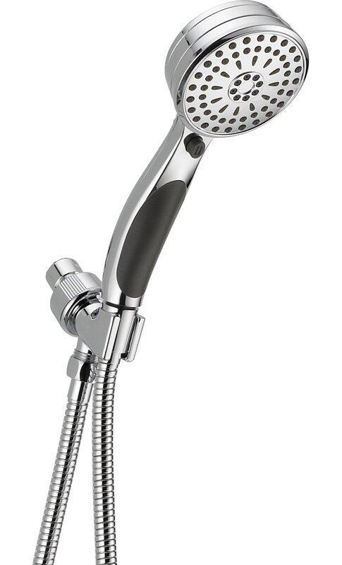 Shower Head Hand Shower Shower Head Chrome 9 functions anti lime Massage Shower Head