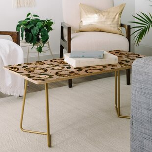 Marta Barragan Camarasa Paisley Botanical Coffee Table