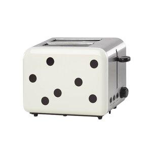 2 Slice All in Good Taste Deco Dot Toaster