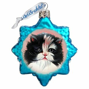 Calico Girl Shaped Ornament by The Holiday Aisle