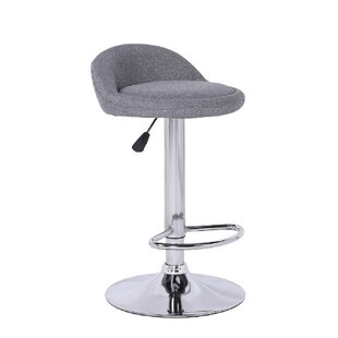 Scothorn Swivel Adjustable Height Bar Stool