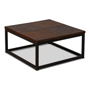 Parquet Low Table, Dark Brown, 20 X 20