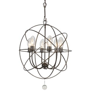 Charleston 6-Light Outdoor Chandelier