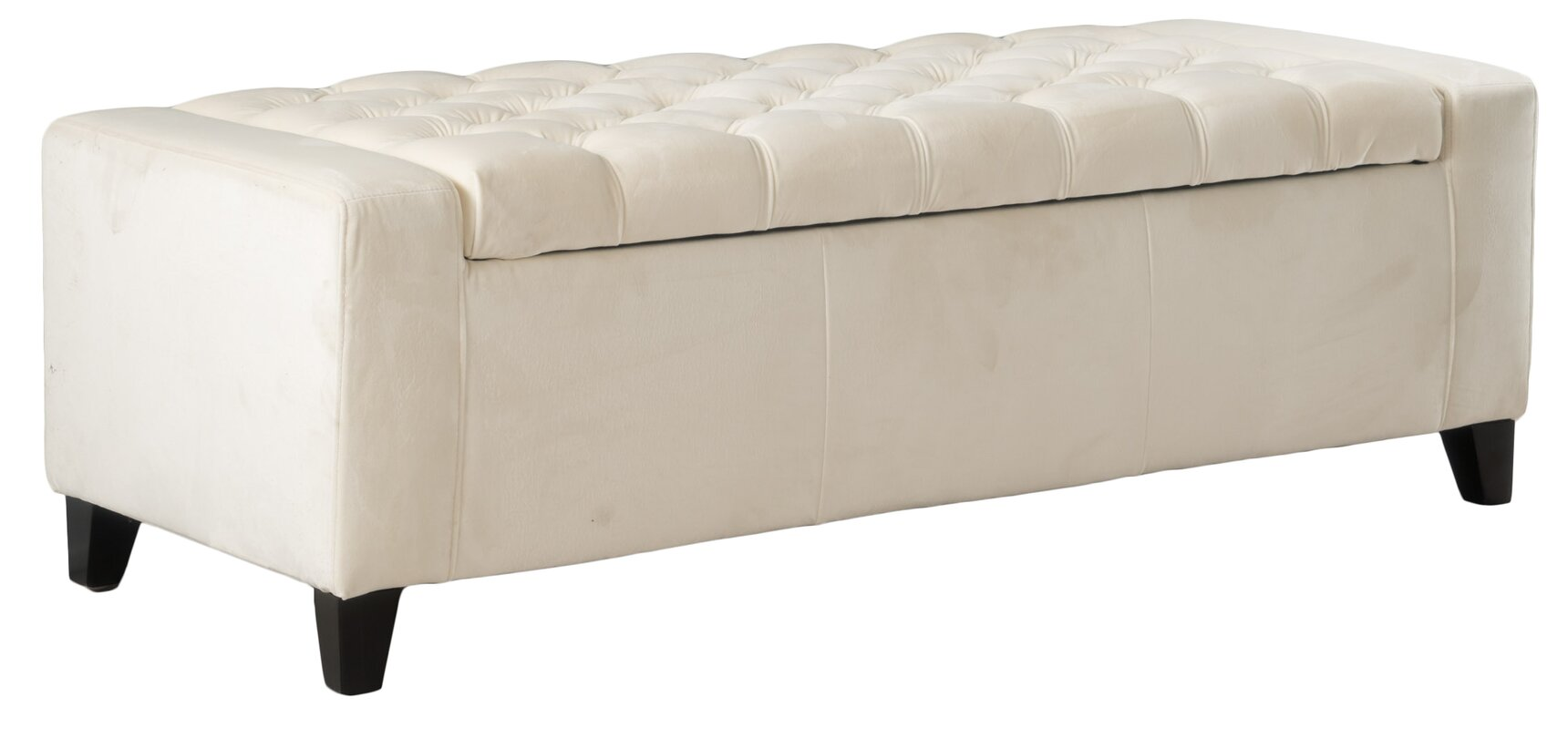 ilchester upholstered storage bench. house of hampton ilchester upholstered storage bench  reviews