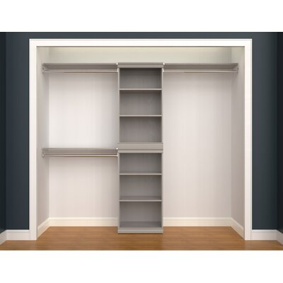 ClosetMaid Modular Storage Stackable Closet System