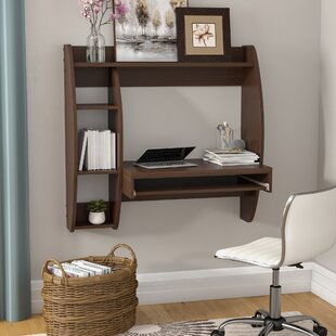 Dowlen Floating Desk with Storage
