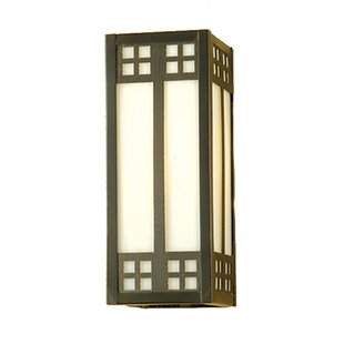 Top Reviews 1-Light Outdoor Flush Mount By Meyda Tiffany