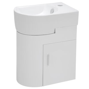 16 Wall-Mounted Single Bathroom Vanity Set by Elanti
