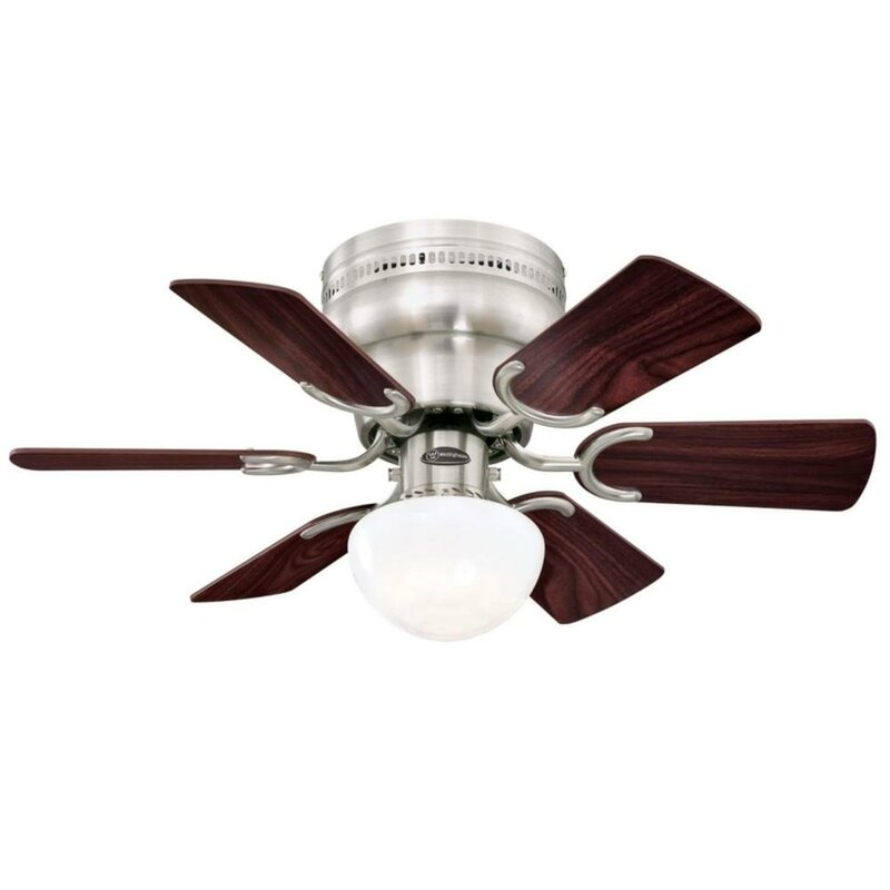 Westinghouse Lighting 30 6 Blade Standard Ceiling Fan With Light Kit Included Reviews Wayfair