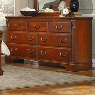 Reviews Legacy 7 Drawer Standard Dresser by Woodhaven Hill