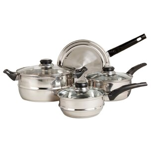 Ridgeline 7 Piece Stainless Steel Cookware Set