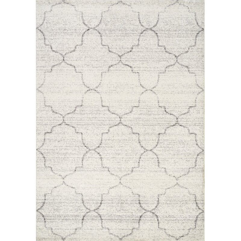 Darby Home Co Falstaff Geometric Beige Area Rug Reviews Wayfair