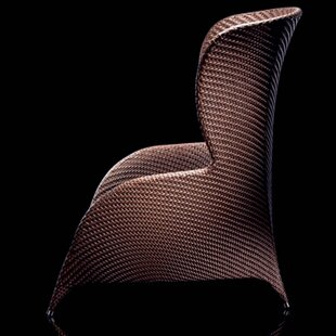 Flora High Back Lounge Chair with Cushion