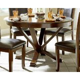 Ryley Round Solid Wood Dining Table by Red Barrel Studio®