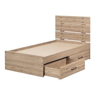 Fakto Industrial Twin Panel Configurable Bedroom Set