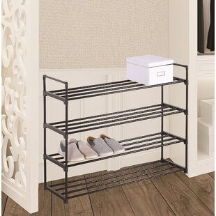 Purchase 20 Pair Stackable Shoe Rack By Rebrilliant