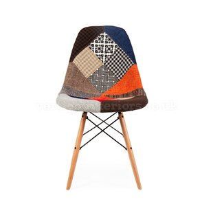 Missouri Patchwork Upholstered Dining Chair Wrought Studio