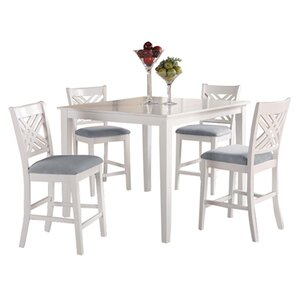 Iva 5 Piece Dining Set by Beachcrest Home
