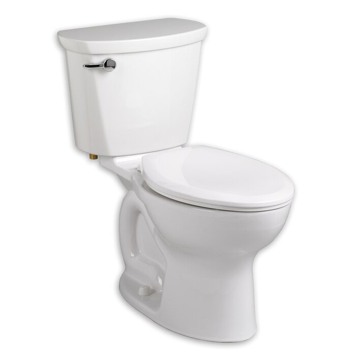 Peachy Cadet 1 6 Gpf Elongated Two Piece Toilet Seat Included Machost Co Dining Chair Design Ideas Machostcouk