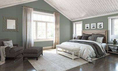 rustic bedroom design - Bedroom