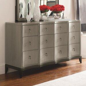 Bonif?cio 9 Drawer Standard Dresser by Willa Arlo Interiors