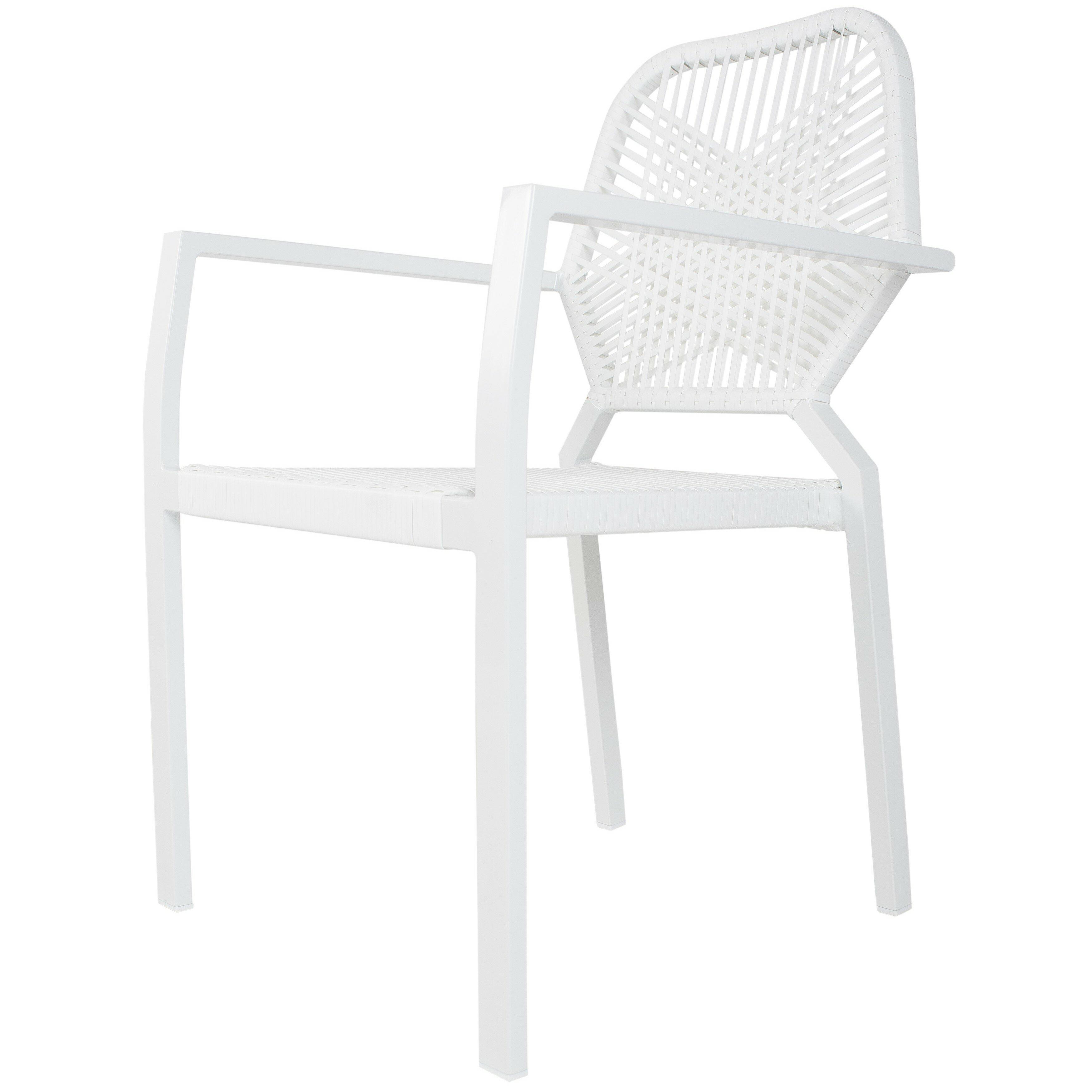 Ebern Designs Hollander Commercial Grade Stacking Patio Dining Chair Reviews Wayfair