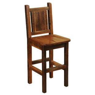 Best Reviews Barnwood 30 Bar Stool by Fireside Lodge Reviews (2019) & Buyer's Guide