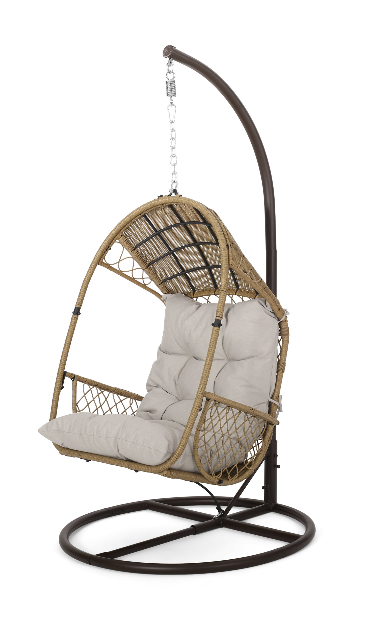 صدى دواسة ساطع Swing Chair With Stand Outofstepwineco Com